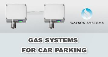 gas detection car parking