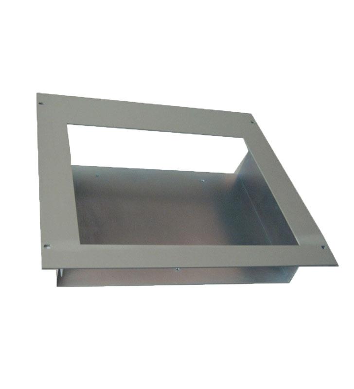 Flushmounting metallic frame ALP24-KIT19