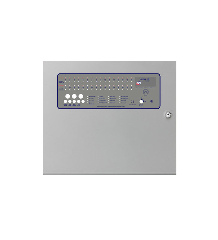 16 zones fire panel ALPHA XL 16