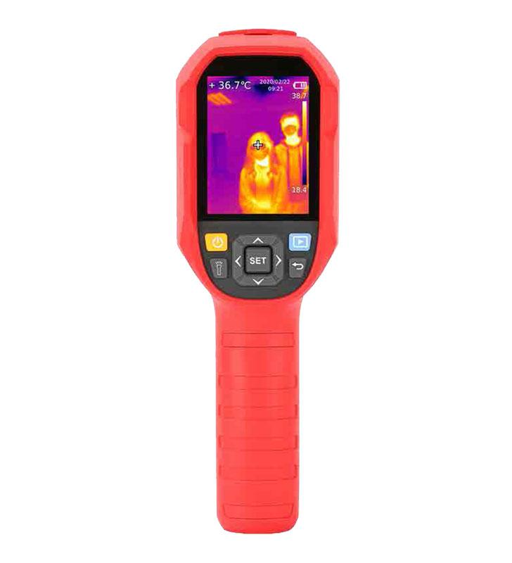 Portable temperature detection unit