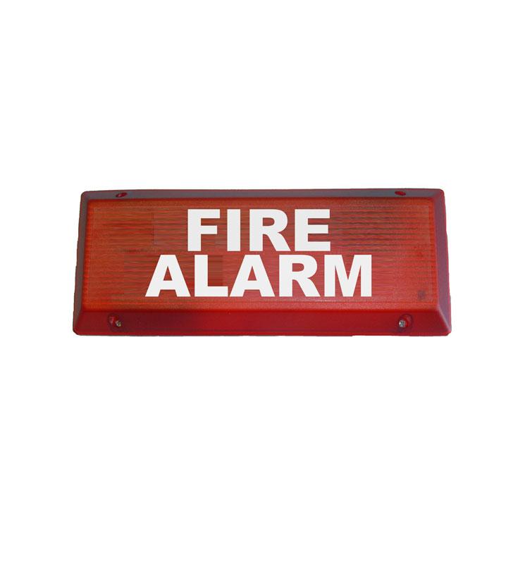 Addressable optical acoustic alarm panel POA543-I
