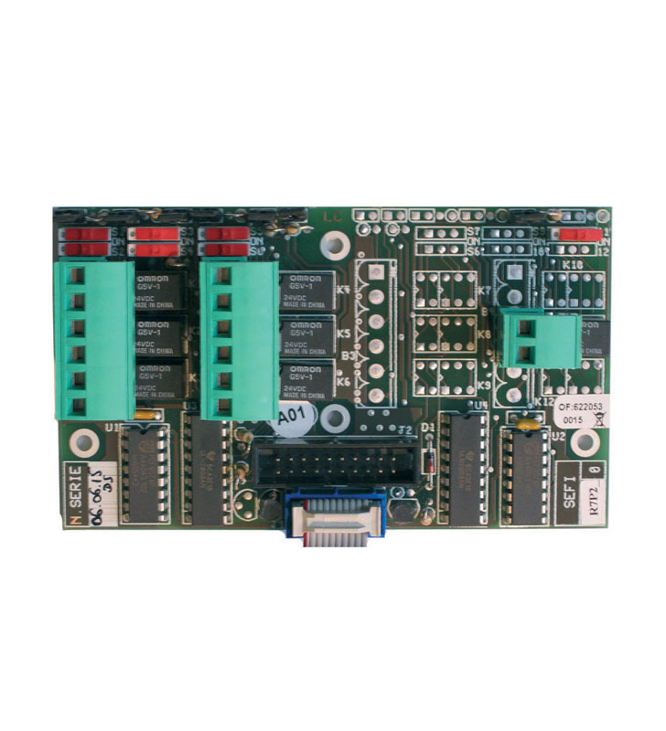 7 ways relay card R7P2