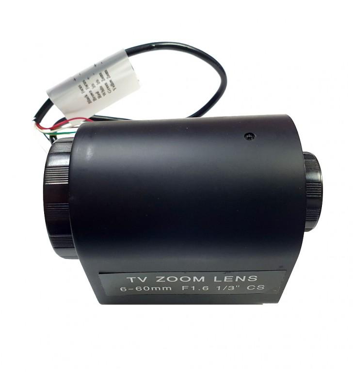 6-60mm lens for surveillance cameras