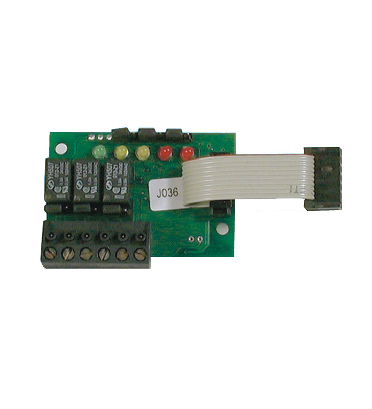 Plug-in 3 relay card STS3REL