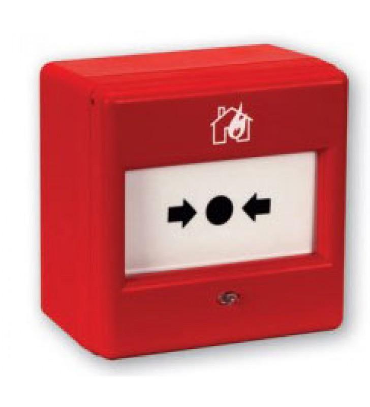 Resettable addressable fire alarm call point TFCP