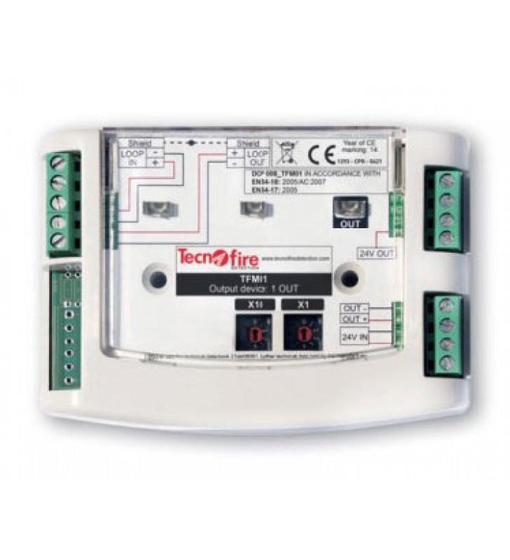 Addressable module 1 output TFM01