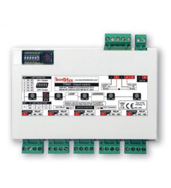 Addressable module 5 output TFM05-LP