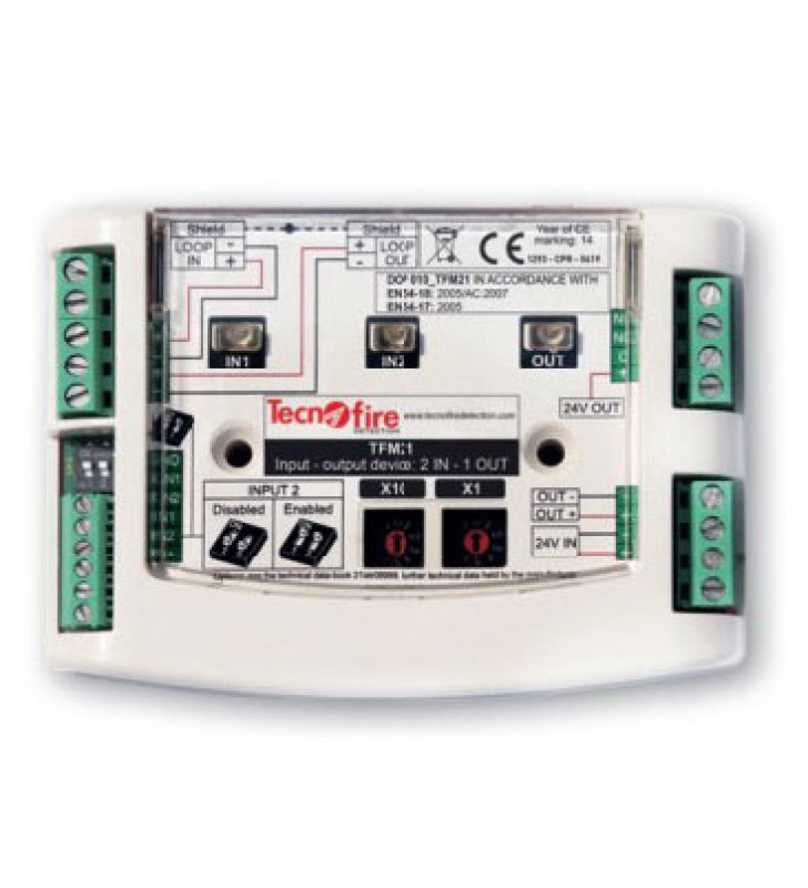 Addressable module 2 inputs, 1 output TFM21