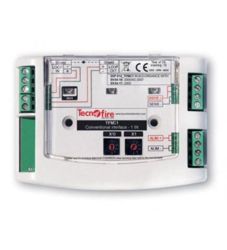 Addressable module 1 input conventional detectors TFMC1