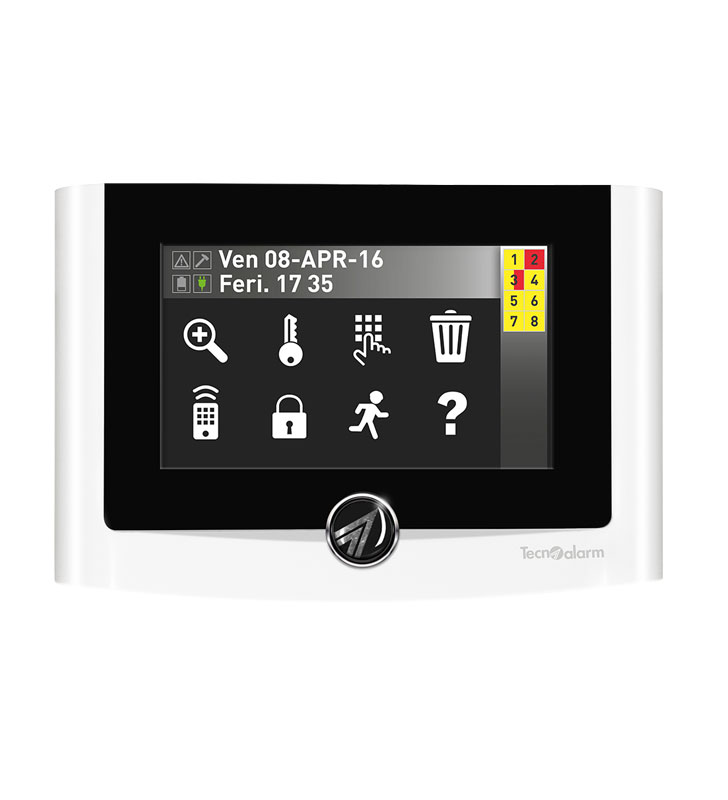 """4.3"""" TFT capacitive touch screen console"""